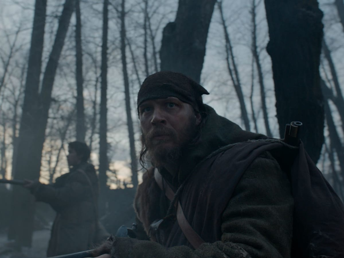 Tom Hardy in The Revenant