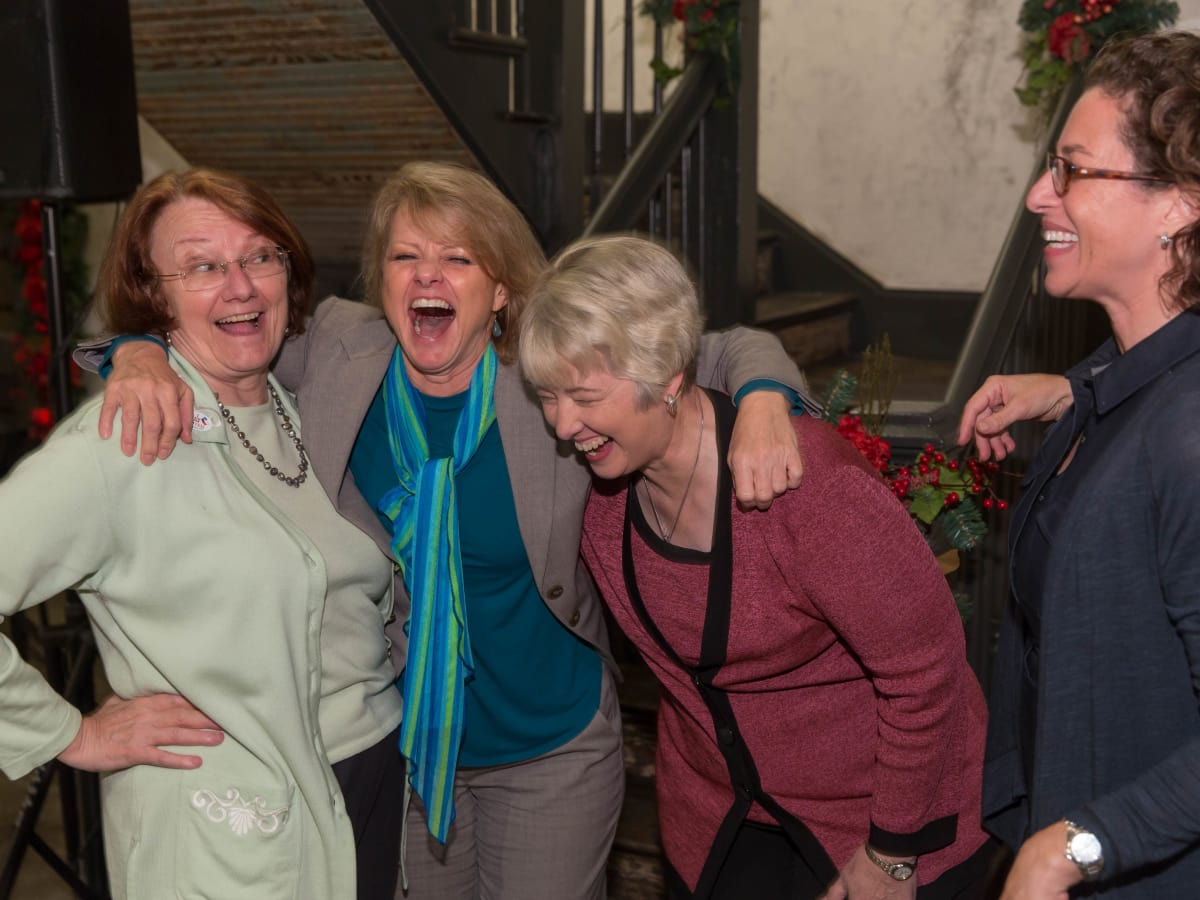 News, Shelby, Laura Spanian farewell party, Kathy Hubbard, Susan Christian, Mayor Annise Parker, Laura Spanjian