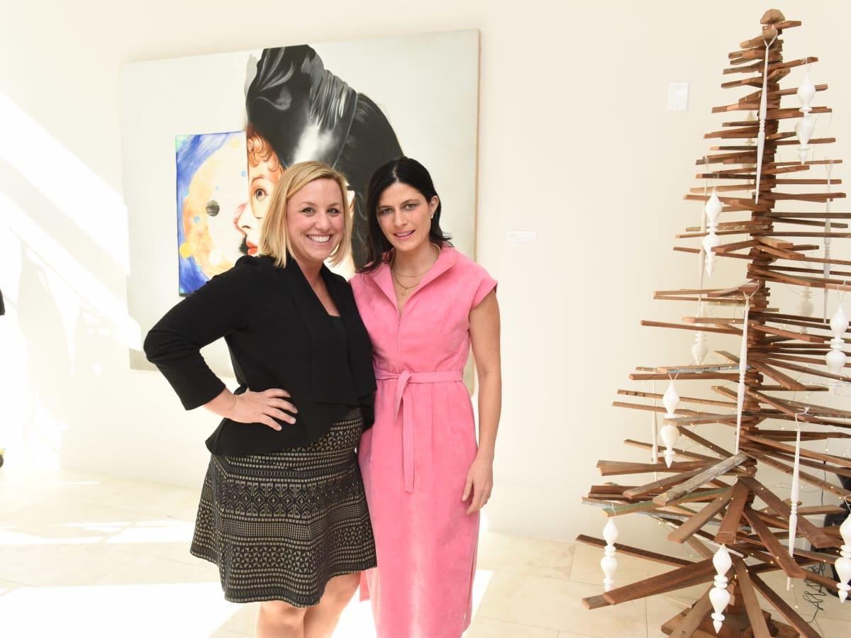 News, Children's Assessment Center tea, Dec. 2015,  Emily Essaye and Natasha Gorgue