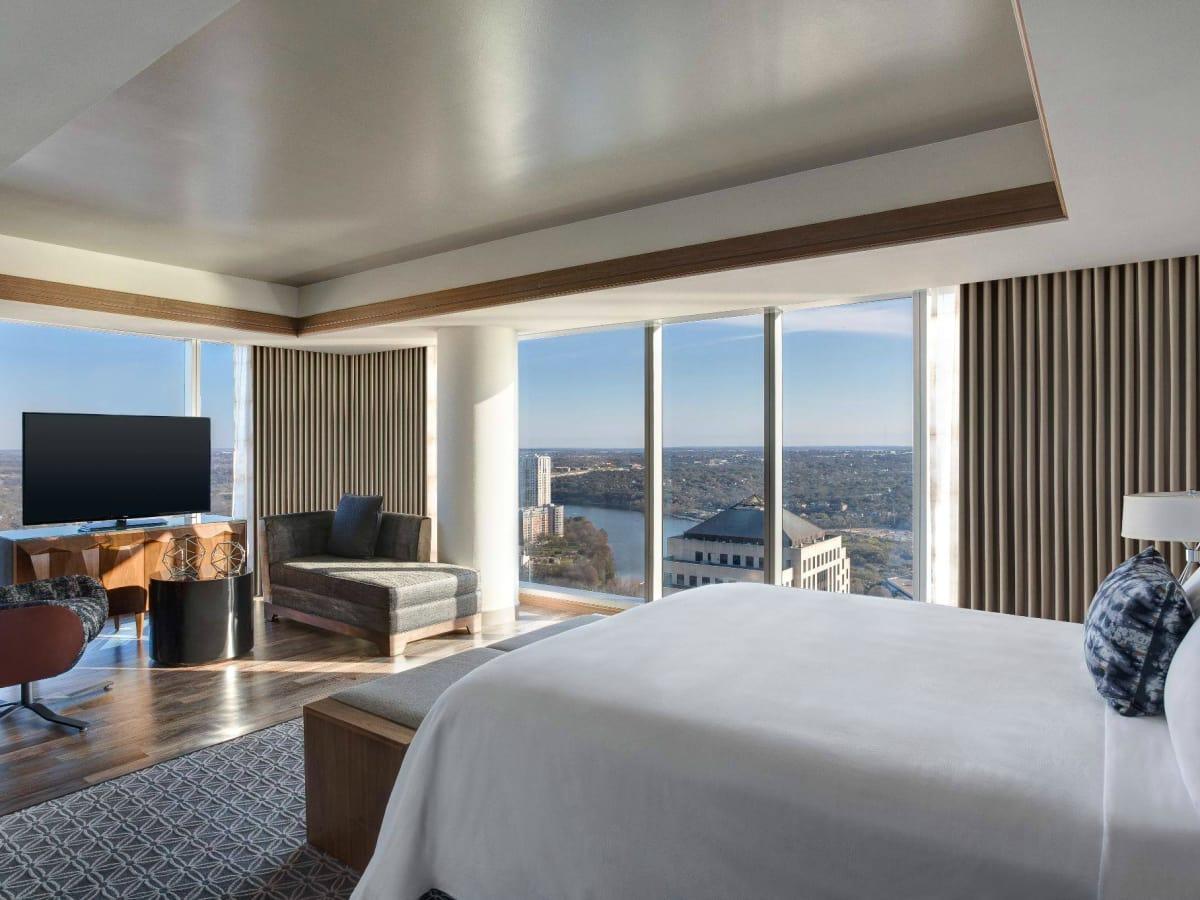 JW Marriott Austin hotel guest room interior 2015