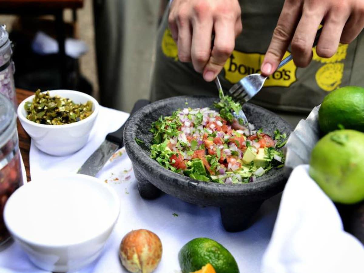 Boudro's Texas Bistro tableside guacamole