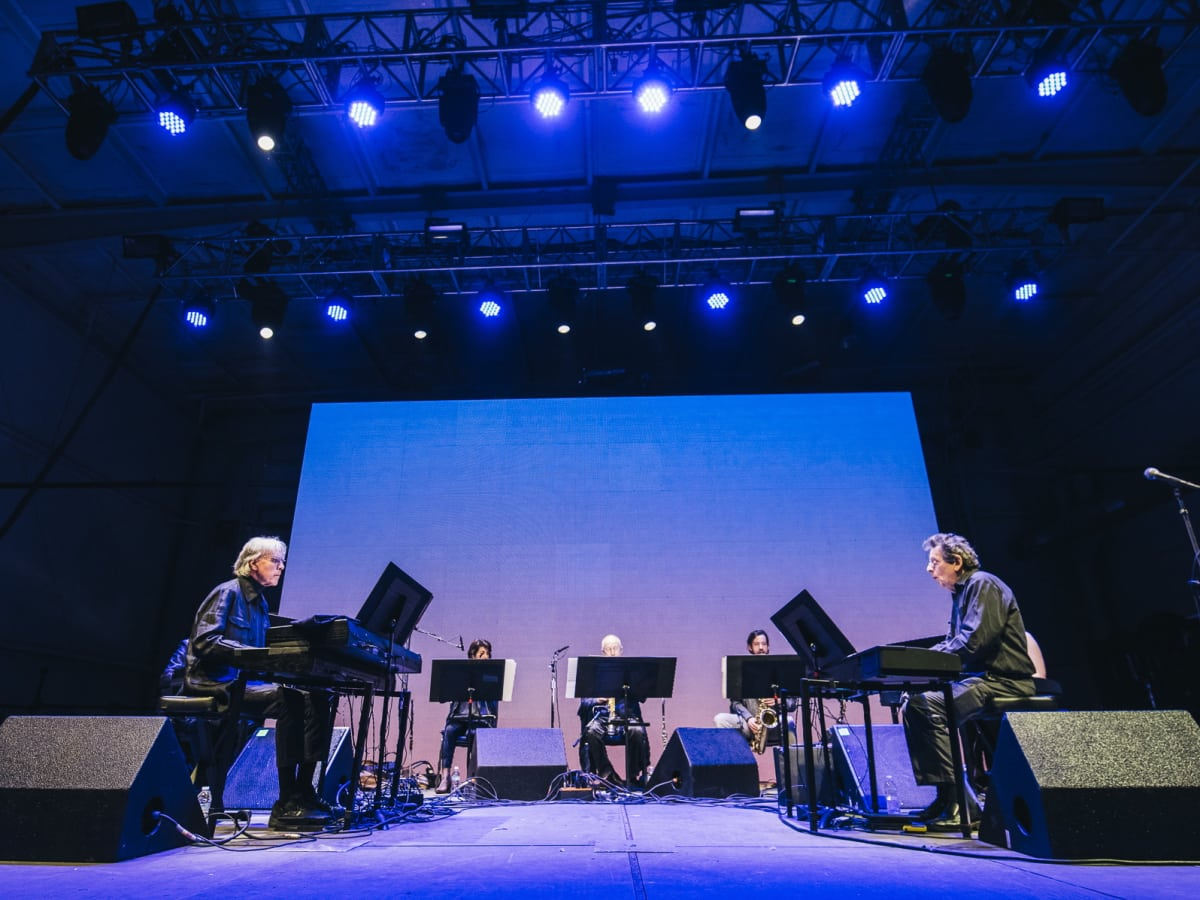 Day For Night Philip Glass Ensemble