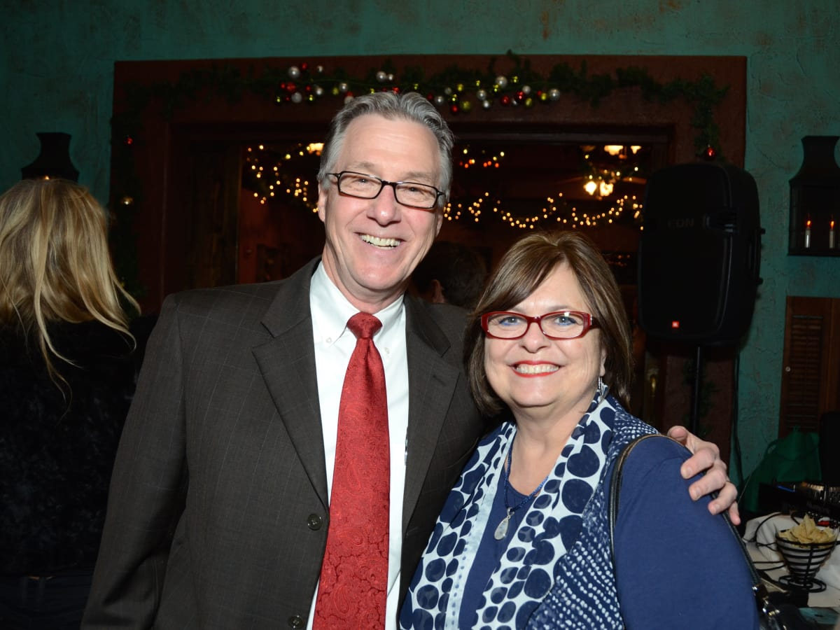 News, Mayor's Hispanic Advisory Board party, Dec. 2015, Steve Costello, Debbie Costello