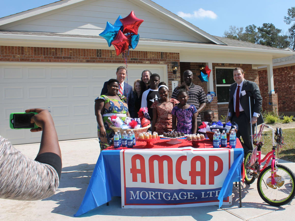 AmCap Habitat for Humanity dedication
