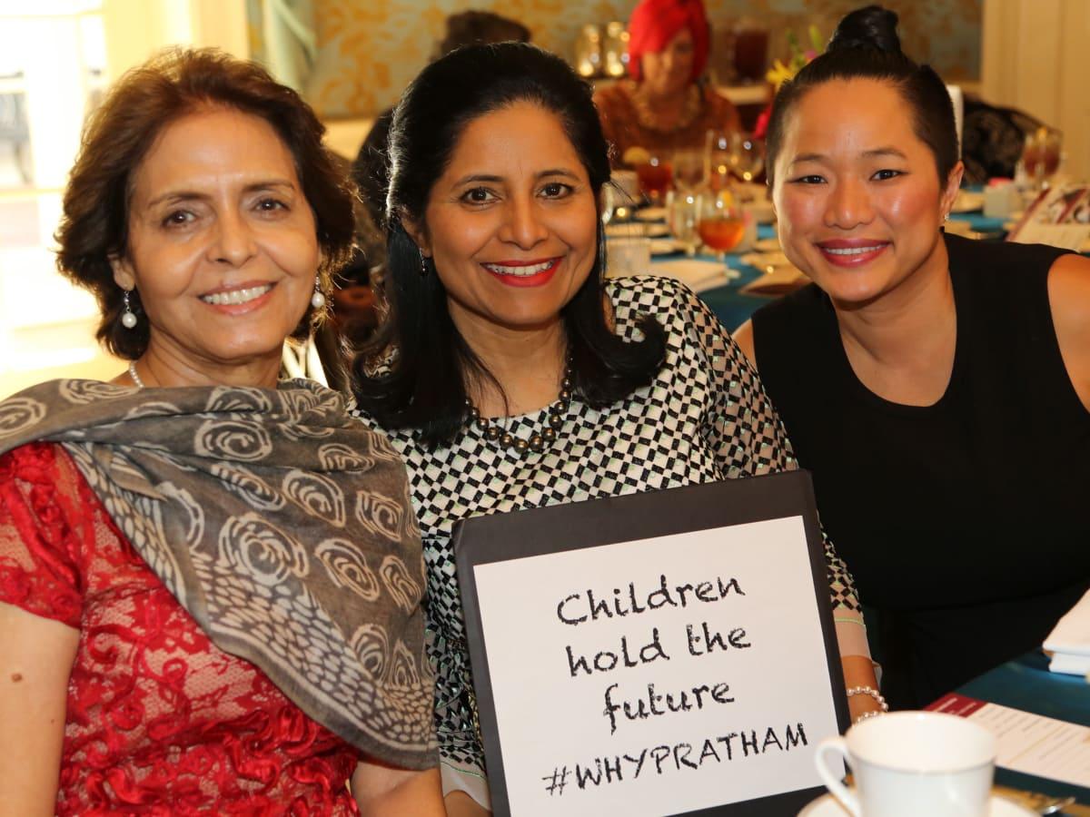Pratham Holiday Party Manjit Soni, Vineeta Salvi, Sydney Dao