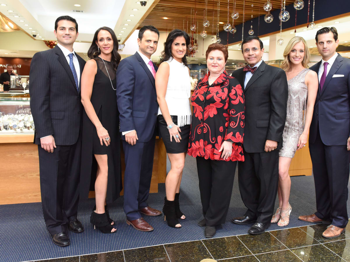News, Zadoks Holiday Party, Dec. 2015, Segev and Amy Zadok,  Gilad and Lisa Zadok, Helene and Dror Zadok, Michelle and Jonathan Zadok