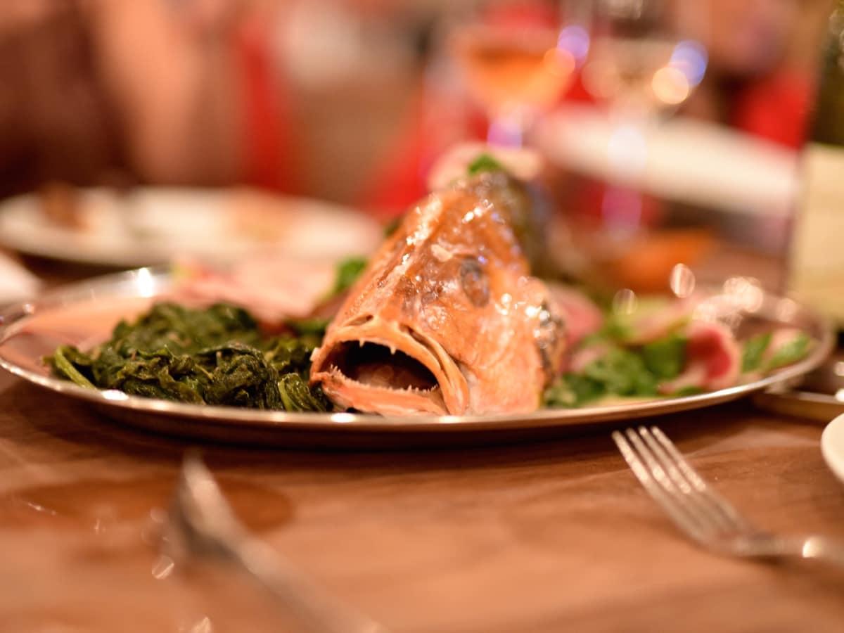 Culinary All Stars Coltivare fish