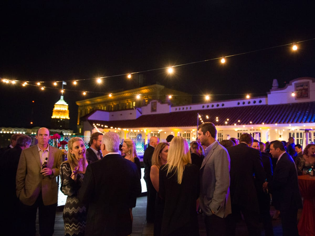 The Saint Anthony Hotel San Antonio Grand Reopening 2015 rooftop plaza