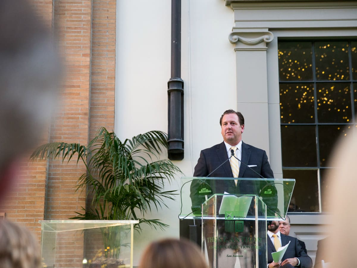 The Saint Anthony Hotel San Antonio Grand Reopening 2015 Clyde Johnson