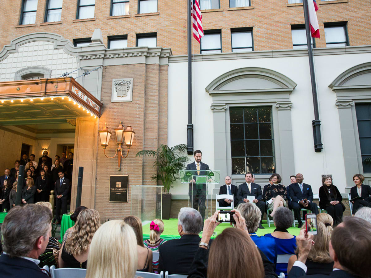 The Saint Anthony Hotel San Antonio Grand Reopening 2015 Brandon Raney