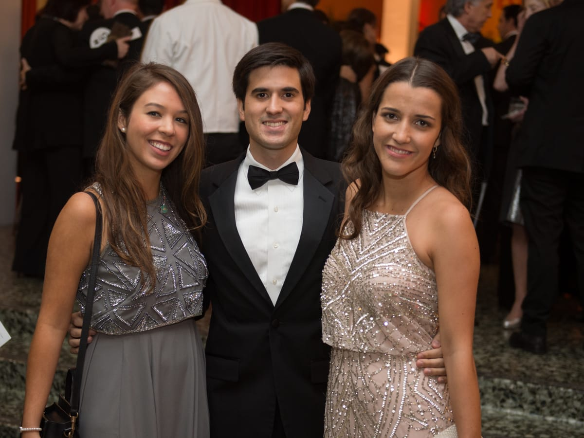 News, MFAH Latin Experience, Nov. 2015 Lorena Raull; Alvaro Molas; Isabel Torras