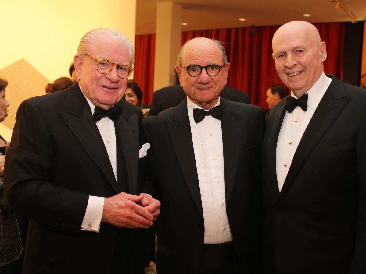 News, MFAH Latin Experience, Nov. 2015, Rusty Wortham, Adolpho Leirner, Louis Adler