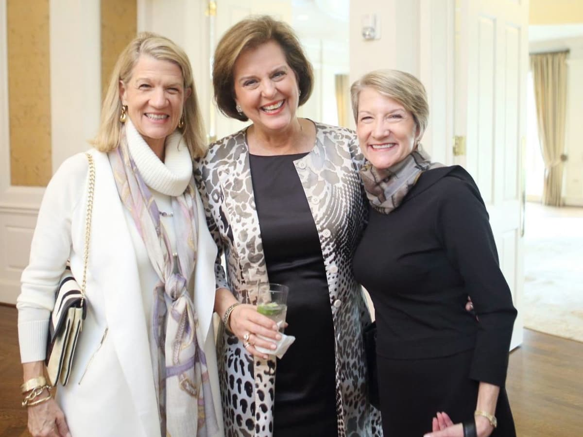 Gayle Hightower, Cyndi Ford, Ginger Kelley at Alzheimer's Association AWARE Luncheon