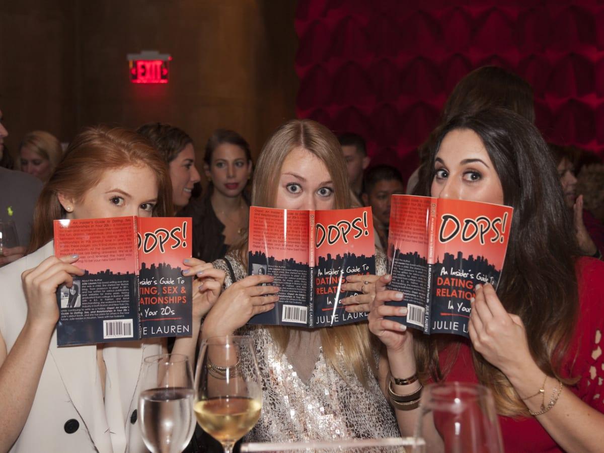 Oops 20s Party Leni Wile, Katie Lane, Julie Weinstein