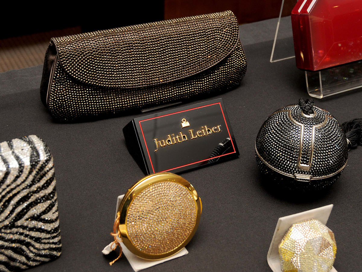 News, shelby, HGO Luncheon, Nov. 2015 Judith Leiber bags