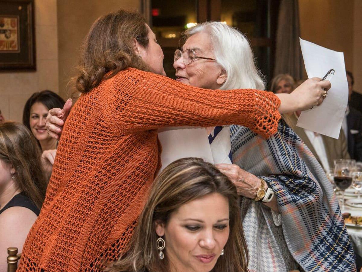 Cecilia Abbott Edith Royal 90th birthday celebration