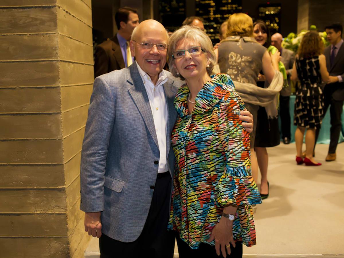 News, Shelby, Buffalo Bayou Partnership gala, Nov. 2015, Bob Eury, Gayle Eury