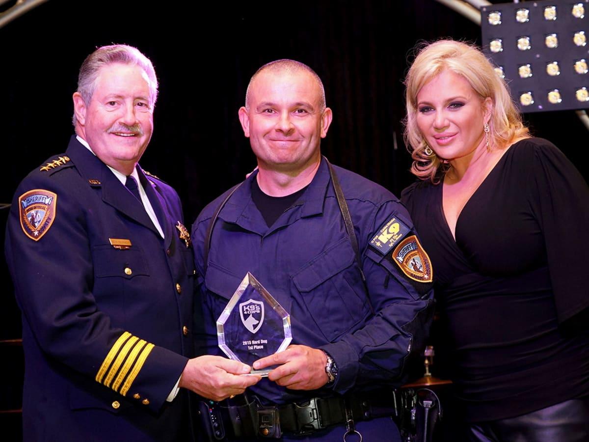 K9s4COPS Gala Sheriff Ron Hickman, Sgt. Chris Moore and Kristi Schiller