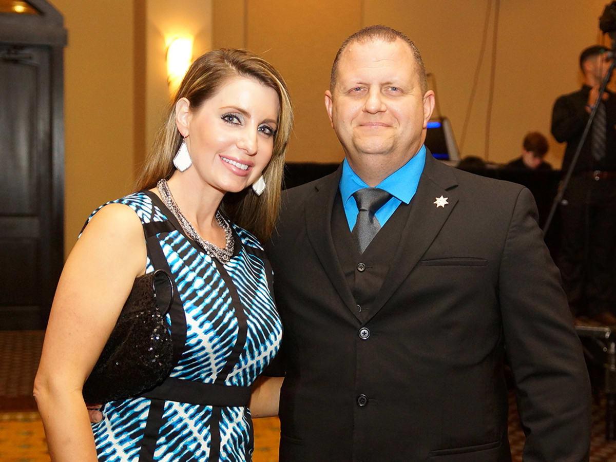 K9s4COPS Rachel and Chief Jasen Rabalais