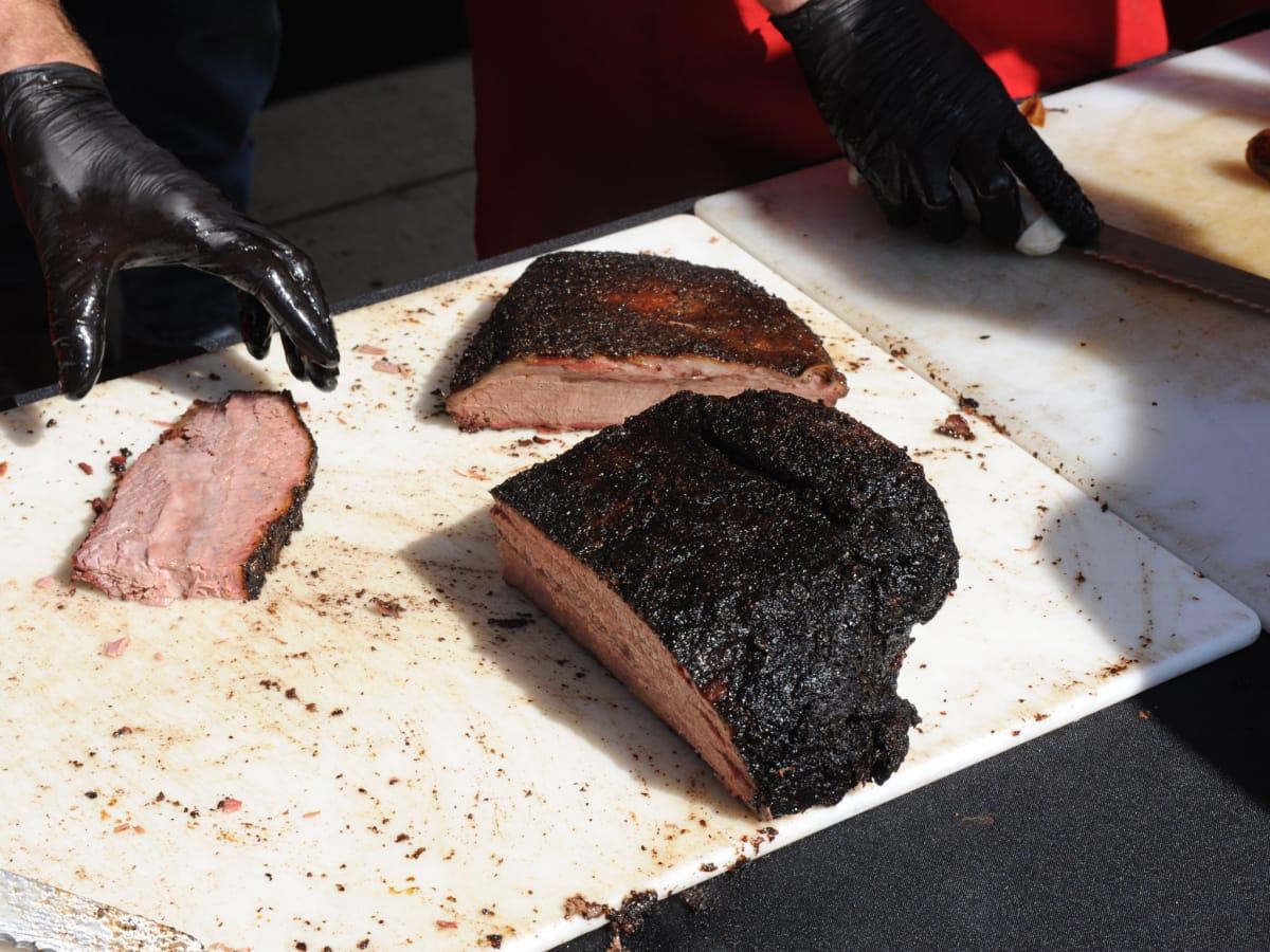 Texas Monthly BBQ Fest 2015 LA Barbecue brisket