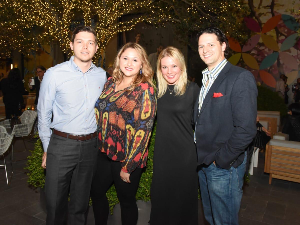 Wilshire Meets the Neighbors Patrick Valdes, Jessica Valdes, Jessica Simon, Dr. Jose Simon