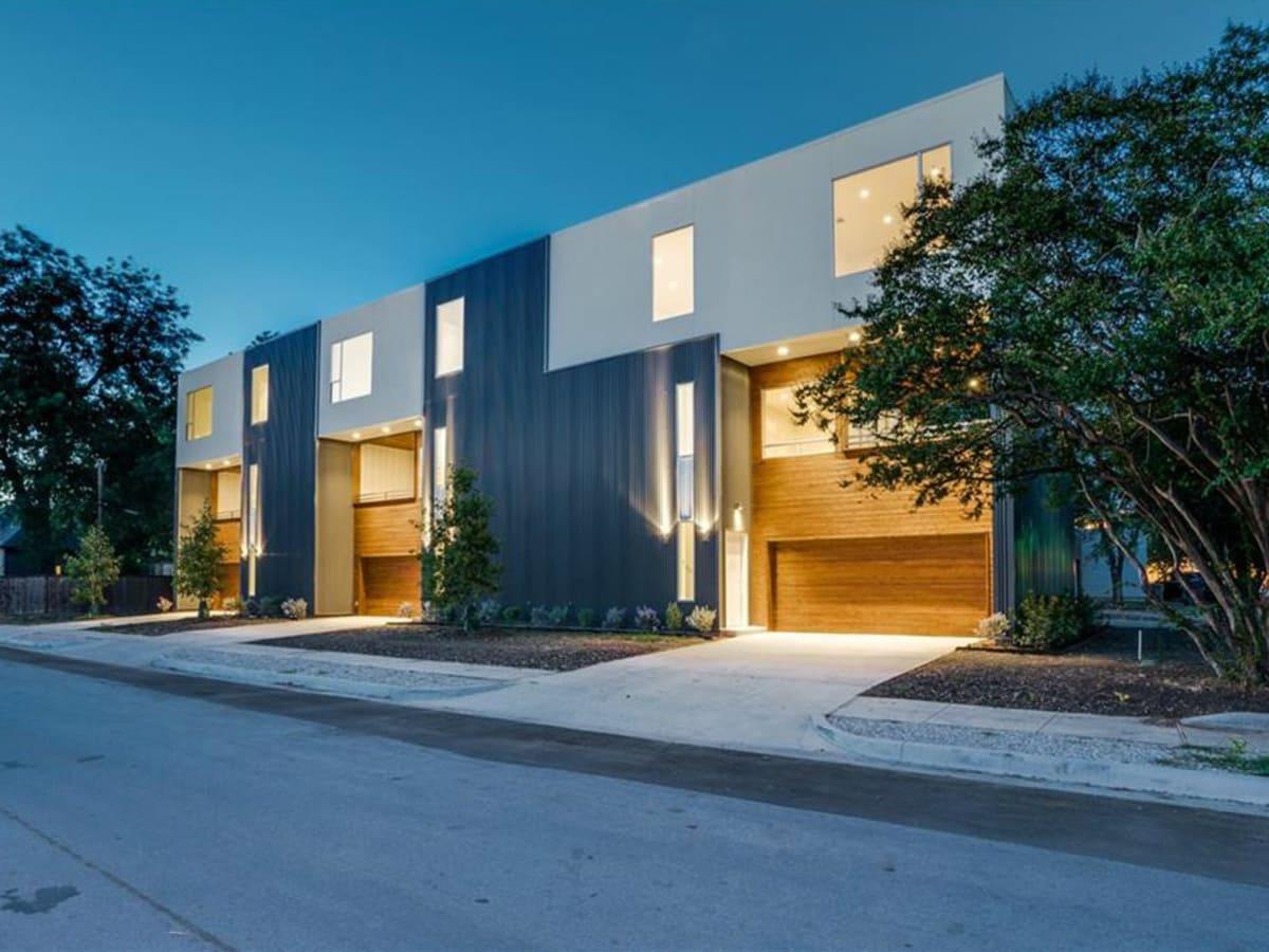 Exterior of 4401 Roseland Ave. Unit B in Dallas