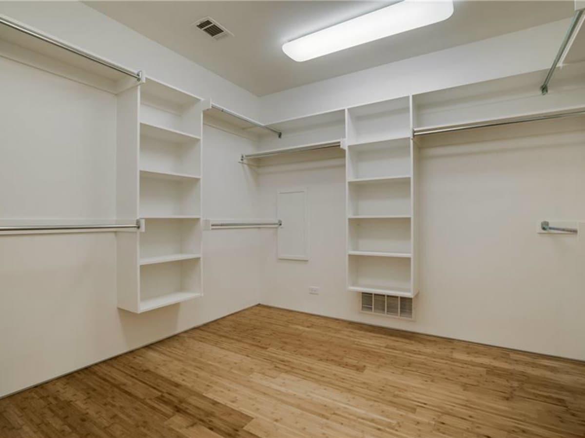 Closet at 4401 Roseland Ave. Unit B in Dallas