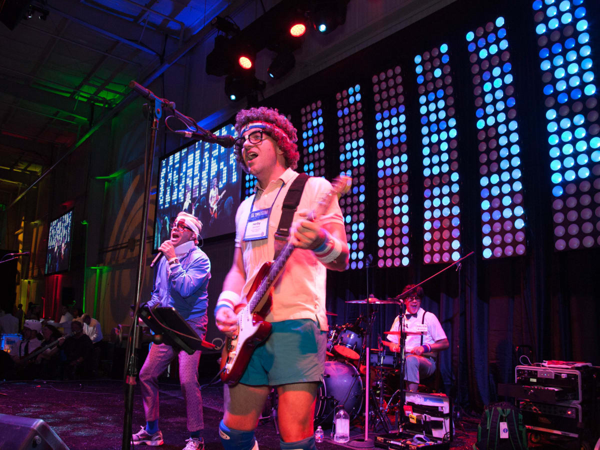News, Shelby, Children's Museum gala, Oct. 2015, The Spazmatics