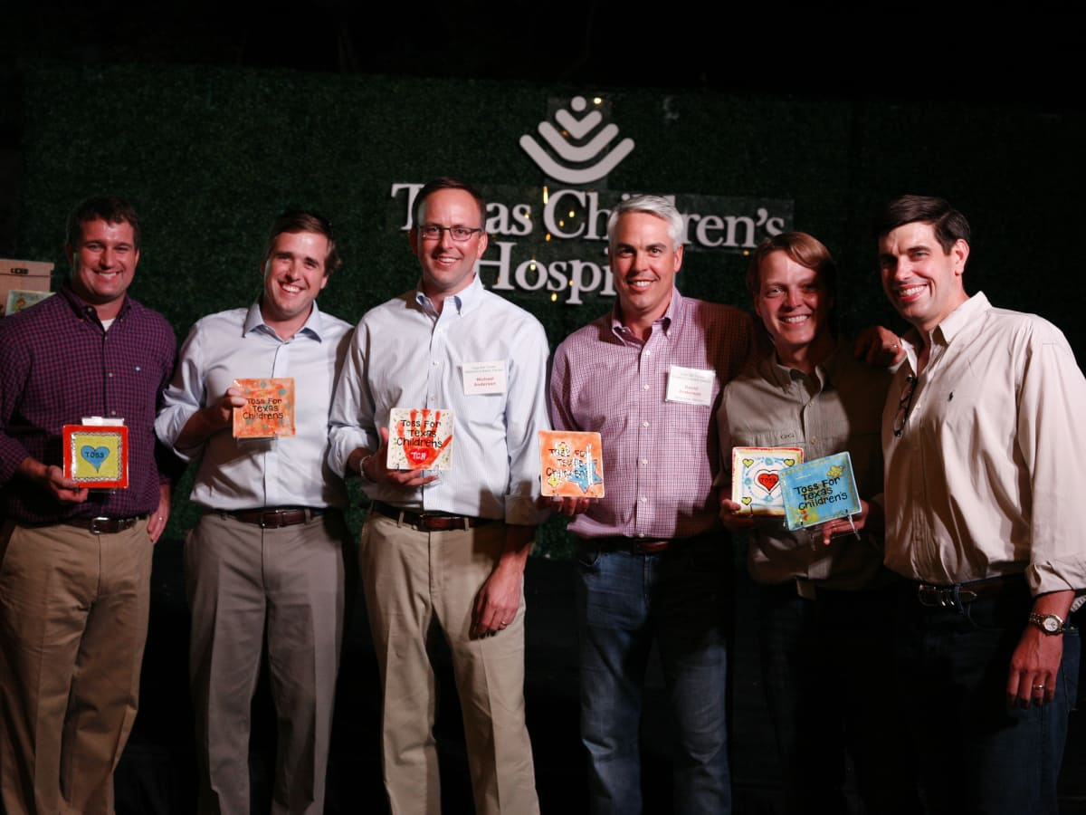 Toss for TCH ohn Berger, David Kinder, Reed Springmeyer, Robert Halpin, David Anderson and Michael Anderson