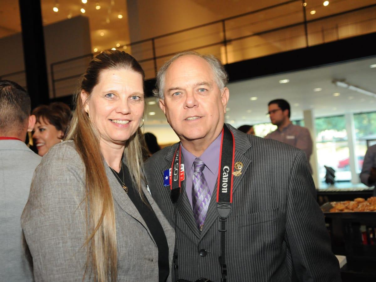 News, Shelby, Mayor's Hispanic Heritage Awards, Oct. 2015,  Linda Jamail, Allan Jamail