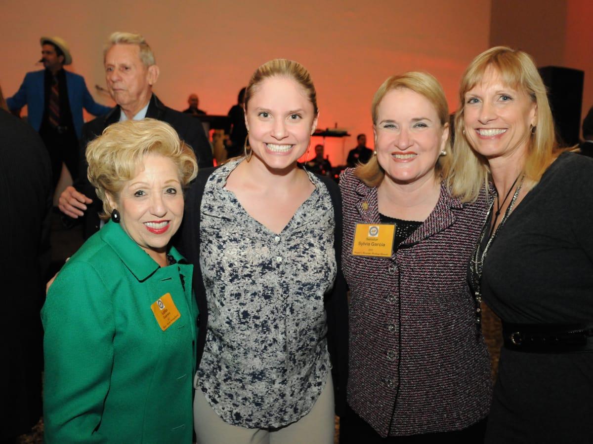 News, Shelby, Mayor's Hispanic Heritage Awards, Oct. 2015,  Lolita Guerrero, Kristin Garcia Blomquist,Sylvia Garcia, Karen Garcia