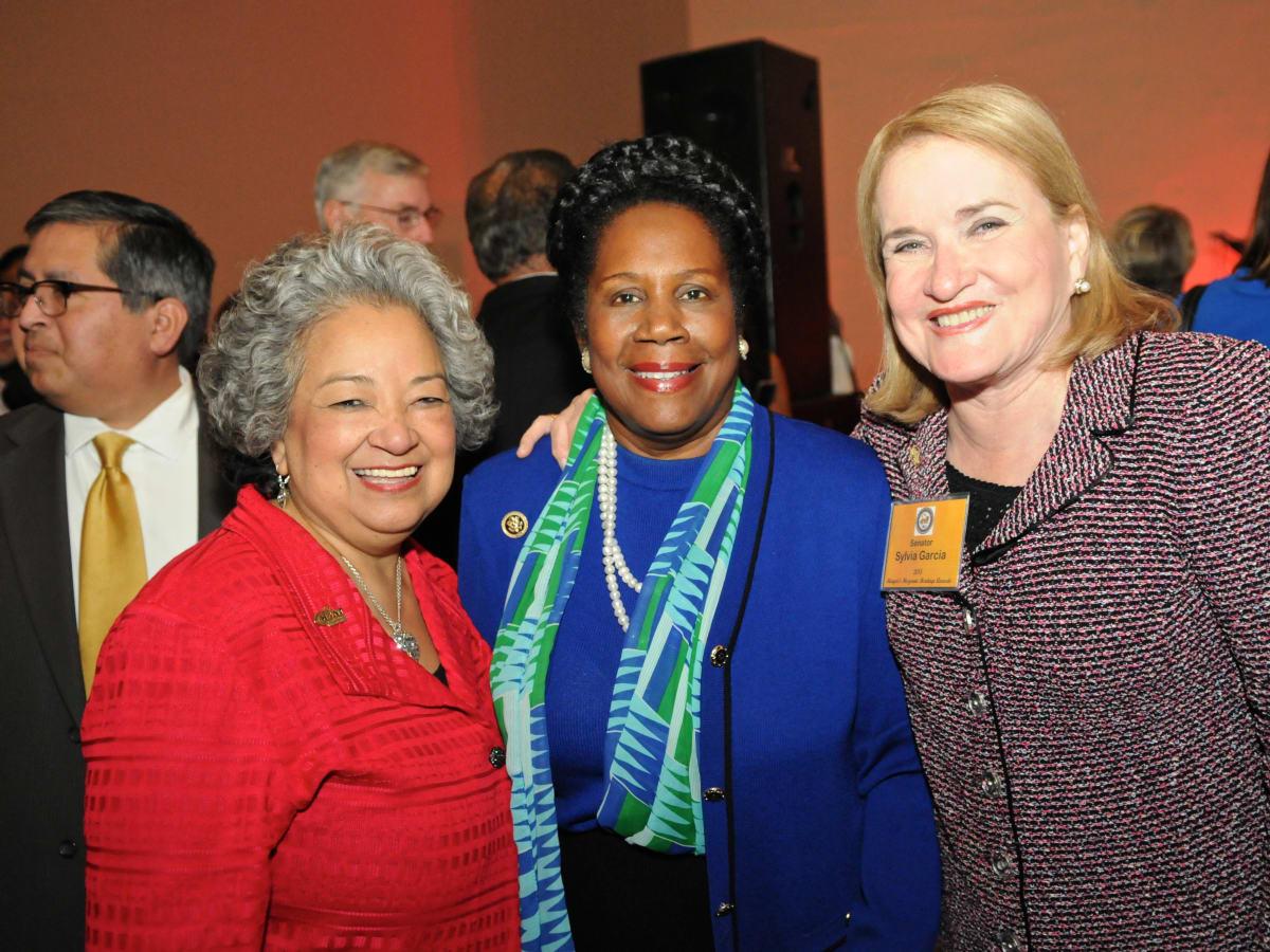 News, Shelby, Mayor's Hispanic Heritage Awards, Oct. 2015, Lenora Sorola-Pohlman, Sheila Jackson Lee, Senator Sylvia Garcia