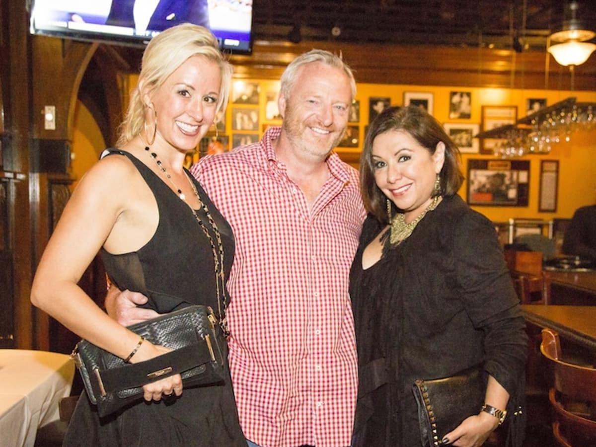 News, Shelby, Beth Muecke b'day, Oct. 2015 Jennifer Brown, Richard Hancock, Debbie Festari