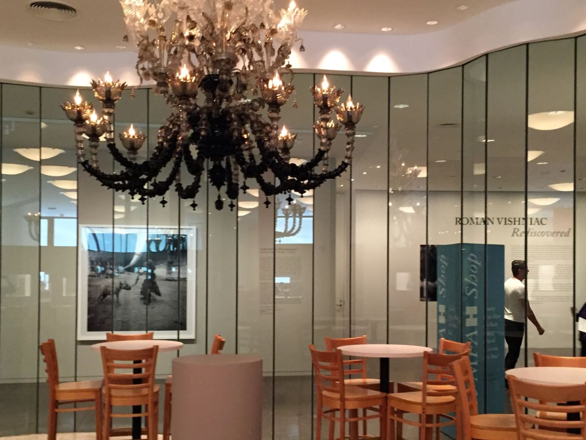 Houston, MFACafe, October 2015, chandelier