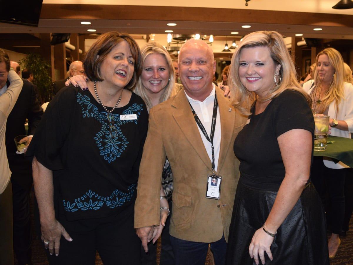 HLSR Trailblazers 2015 Sandra Crook, Meredith Chastang, Greg Miller and Ann Massey
