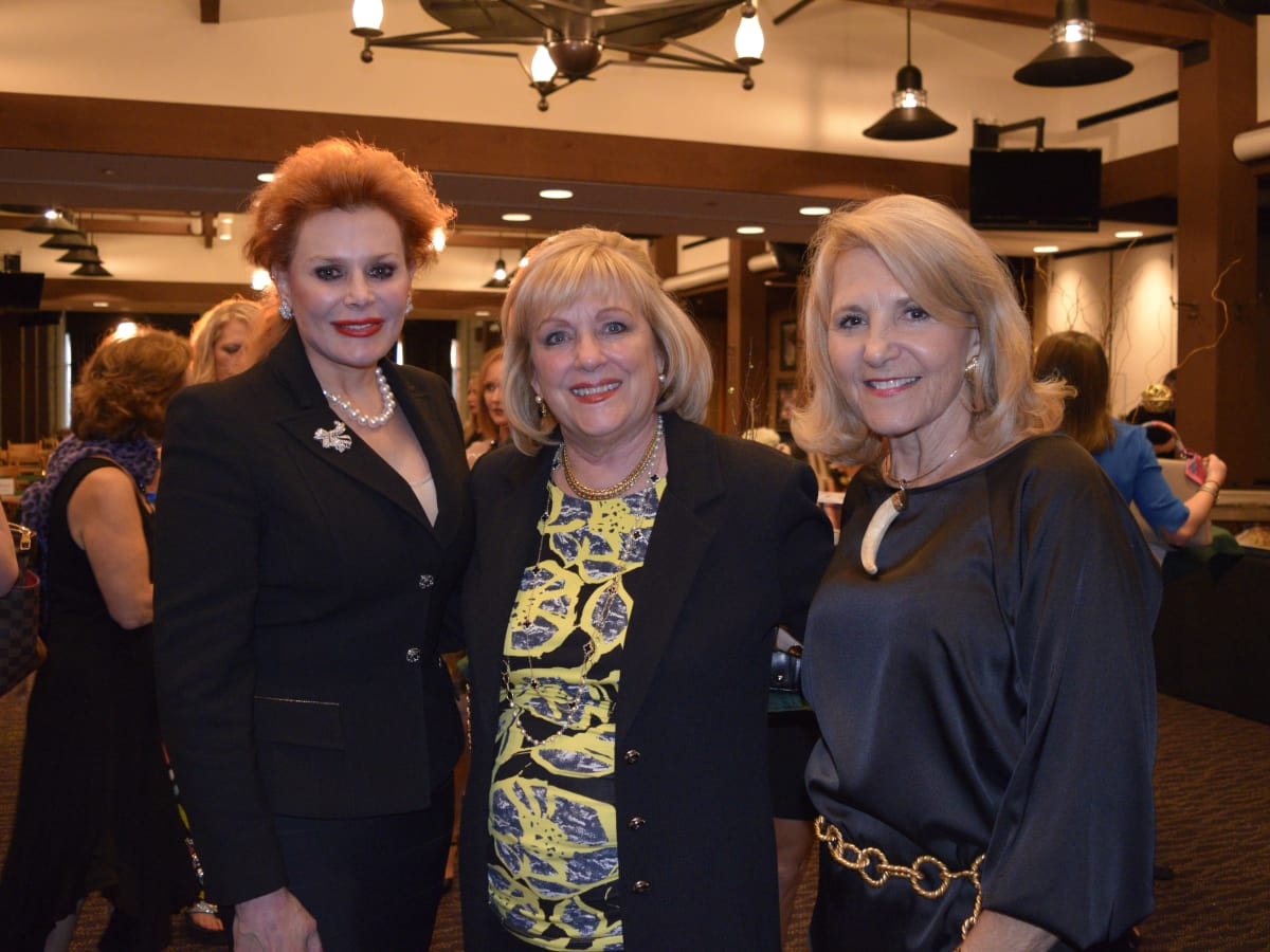 HLSR Trailblazers 2015 Angela Montalbano, Pam Springer and Mary Ellen Verbois