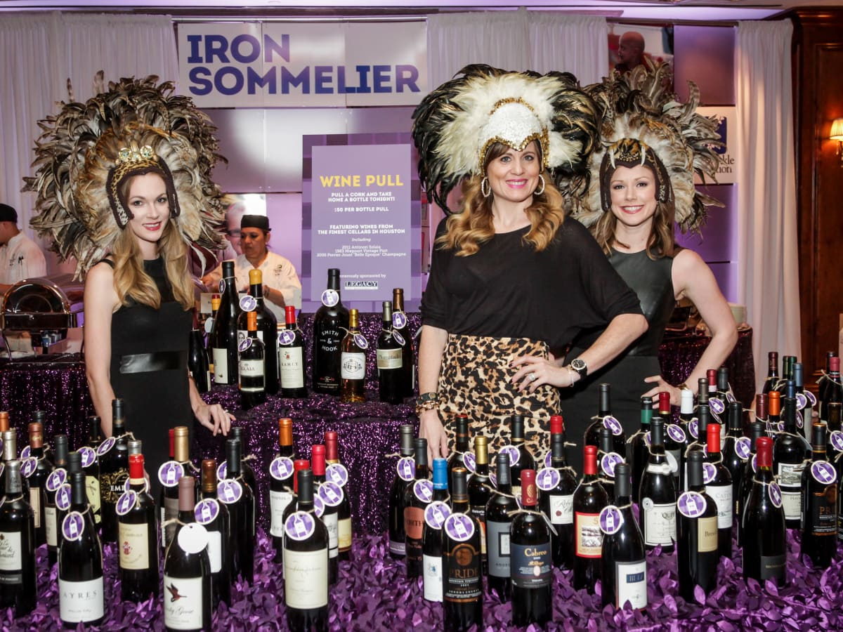 Houston, Periwinkle Foundation Sommelier Competition, September 2015, Ashely Foreman;  Jillian Nel; Carrie Marek