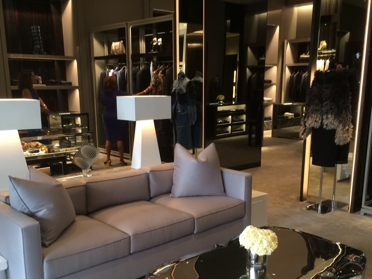 Tom Ford store at River Oaks District