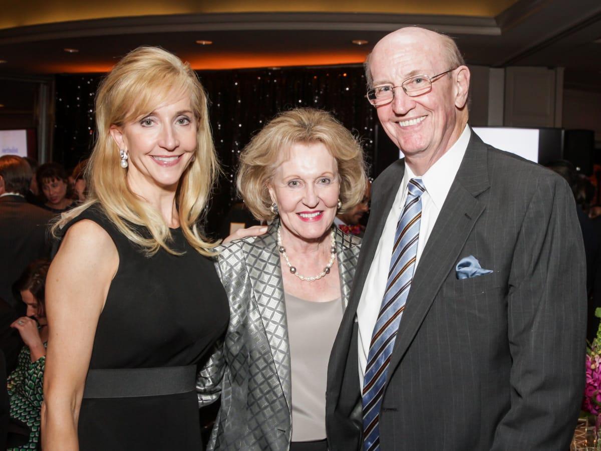 Hearts of Gold Gala Patricia Dewhurst, Carolyn and Dr. Carlos Hamilton