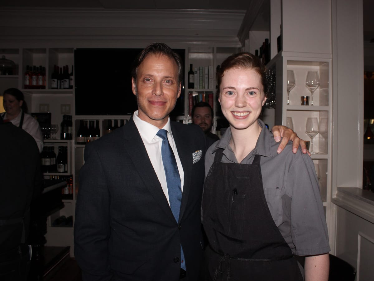 Houston, Cadillac Road to Table dinner, September 2015, Sheperd Ross and Martha Wilcox