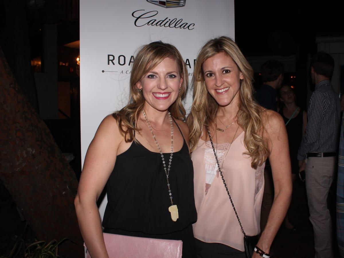Houston, Cadillac Road to Table dinner, September 2015, Courtney Perna, Courtney Zuboswki Haas