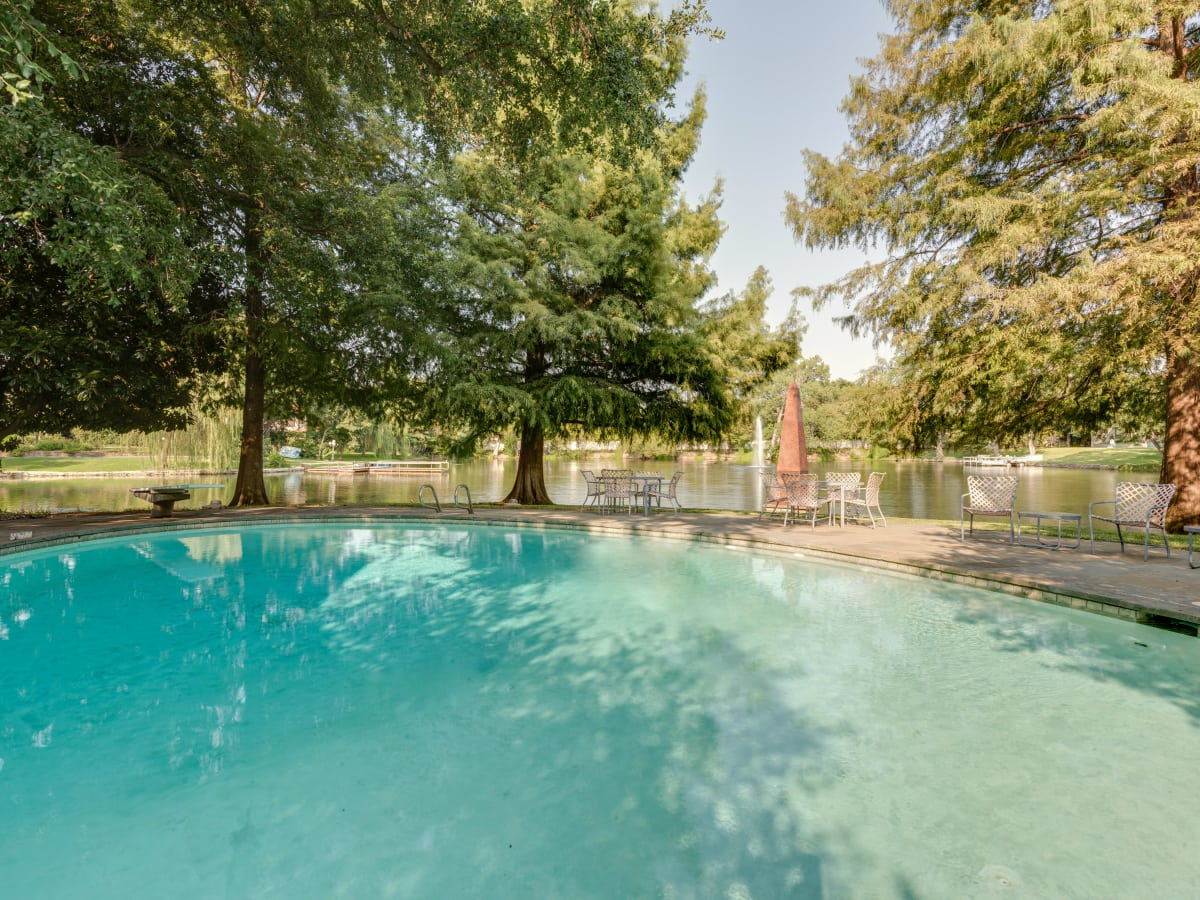 Preston Hollow pool and view