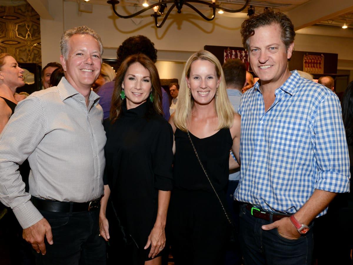 Eric and Sheryl Maas, Allyson Greenfield, Steve Wrubel