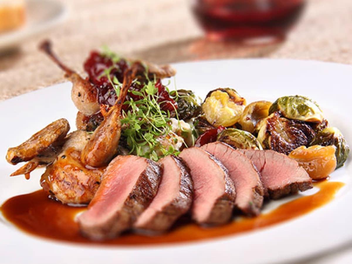 Biga on the Banks San Antonio Restaurant Riverwalk quail venison dish