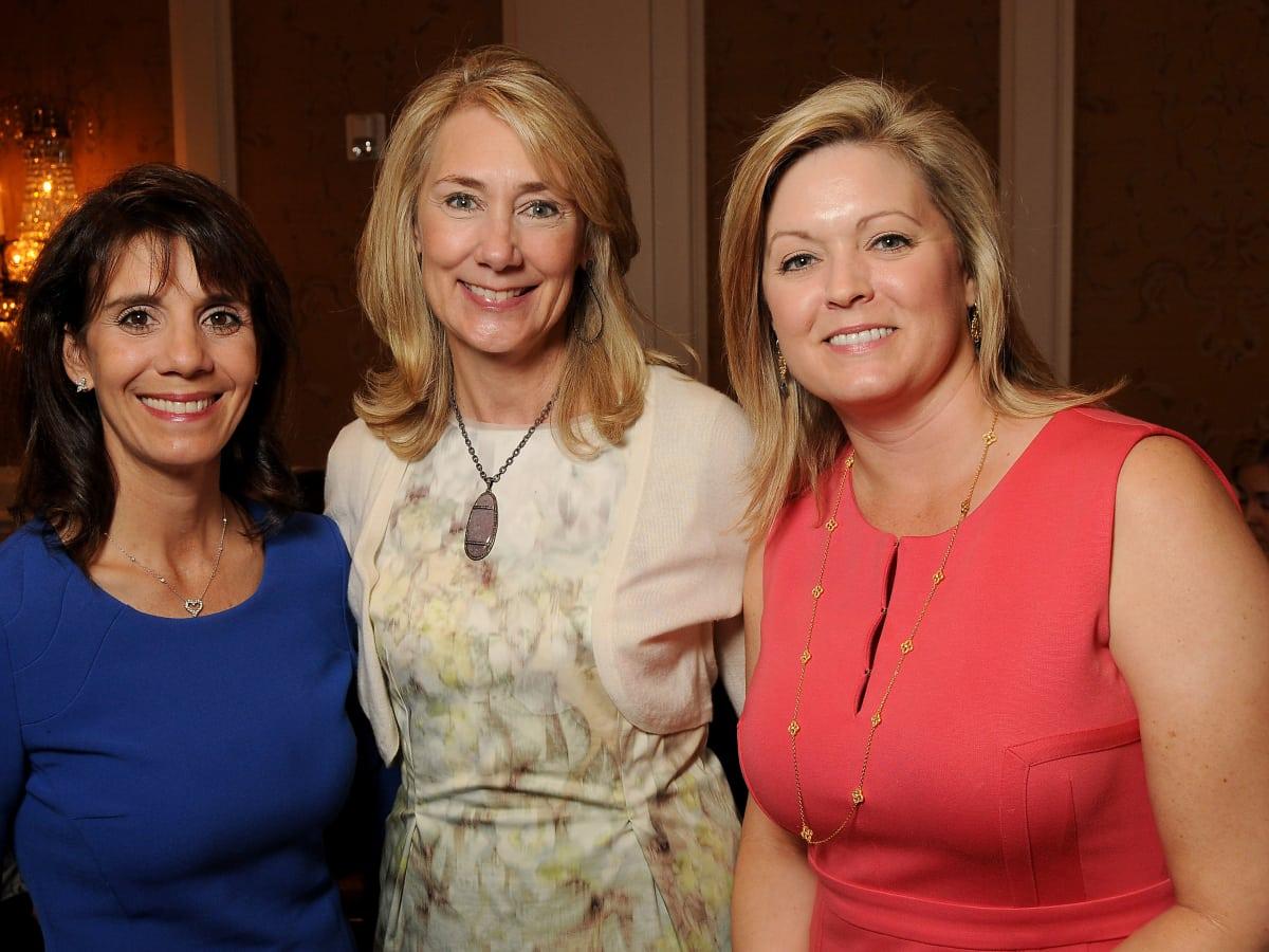News, Shelby, Houston Botanic Garden Lunch, Sept. 2015, Shelley Barineau, Kelly Montgomery and Laura Heard