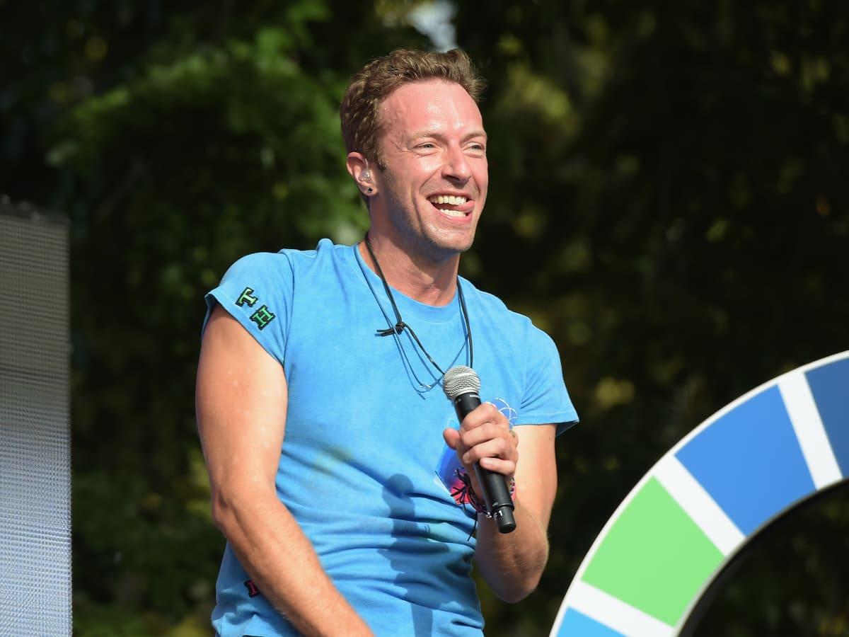 2015 Global Citizens Festival Coldplay Chris Martin