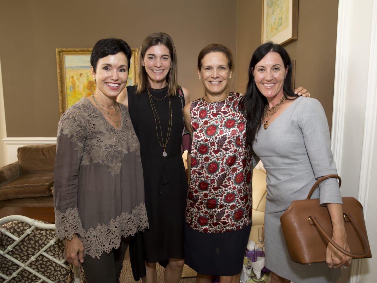 News, Shelby, Small Steps luncheon, Sept. 2015, Gracia Duncan, Liz Stepanian, Cecilia Harris, and Danielle Magdol