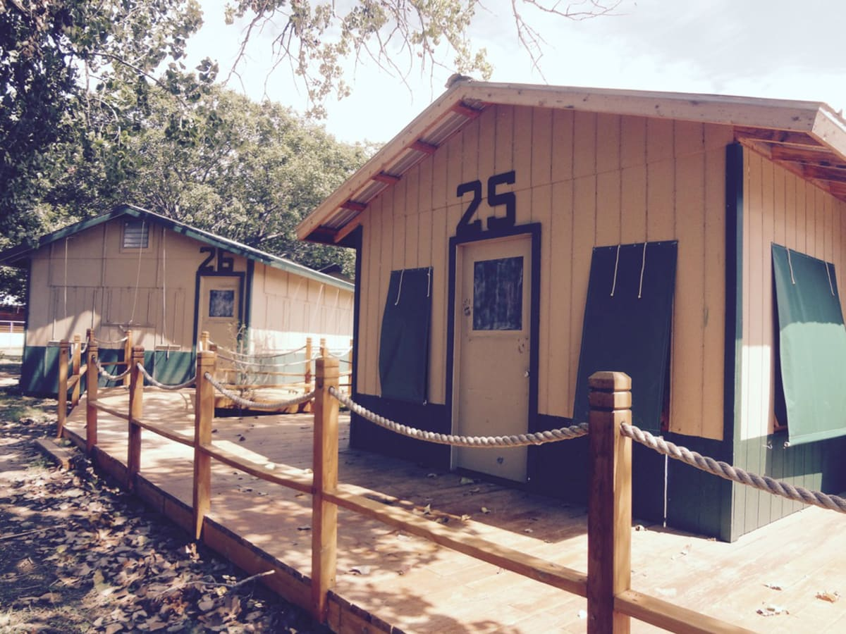 Camp Champions Marble Falls cabin Camp Halloweekend Halloween Alamo Drafthouse Rolling Roadshow 2015