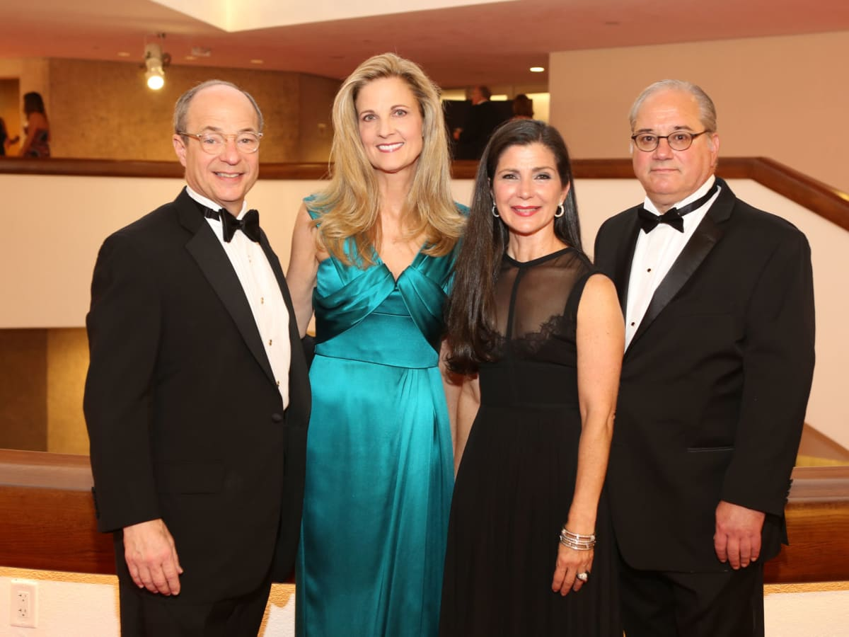 News, Shelby, Alley Theatre opening, September 2015, Sam and Melinda Stubbs, Cynthia and Tony Petrello