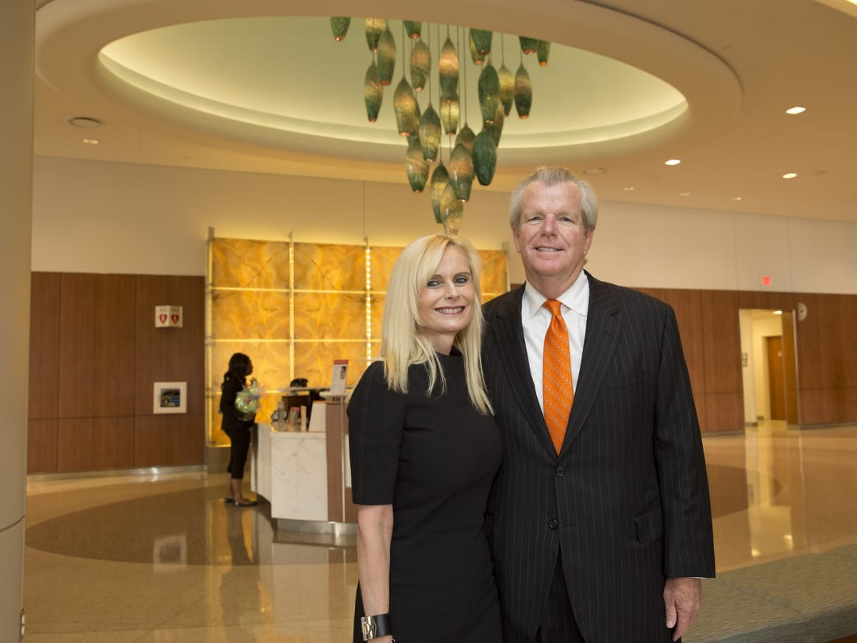 News, Shelby, Celebration of Champions lunch, Sept. 2015, Jo Lynn Falgout, Gregg Falgout